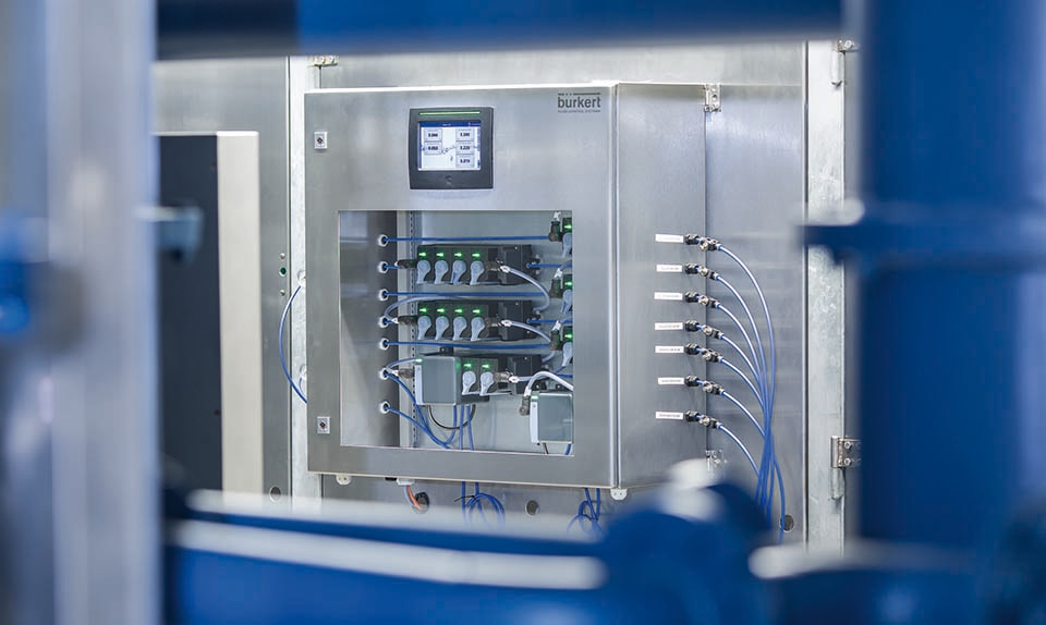Continuous Online Water Quality Monitoring - Bürkert Fluid Control Systems