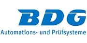 BDG Logo Automations- und Prüfsysteme