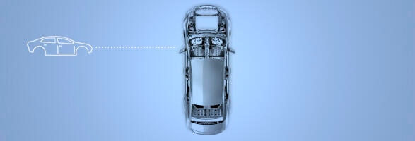 Car body from above