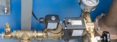 Pressure relief encapsulation system with solenoid valve