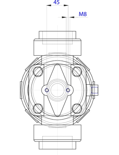 154804 22 way piston operated diaphragm valve pneumatic the depiction of the products may differ from the actual specific design ccuart Images