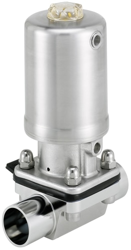 Type 2063 pneumatically operated 22 way diaphragm valve with type 2063 pneumatically operated 22 way diaphragm valve with stainless steel actuator ccuart Gallery