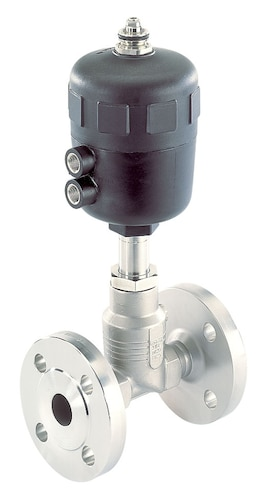 Type 2712 Pneumatically Operated 2 Way Globe Control Valve