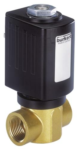 /Électrovanne /à action directe 2 positions 2 voies en plastique vanne /à r/éponse rapide eau Air huile vannes de commande pneumatiques 12V DC G1//4
