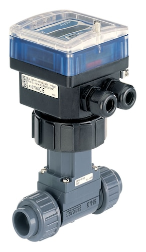 Type 8025 Insertion Flowmeter Or Batch Controller With