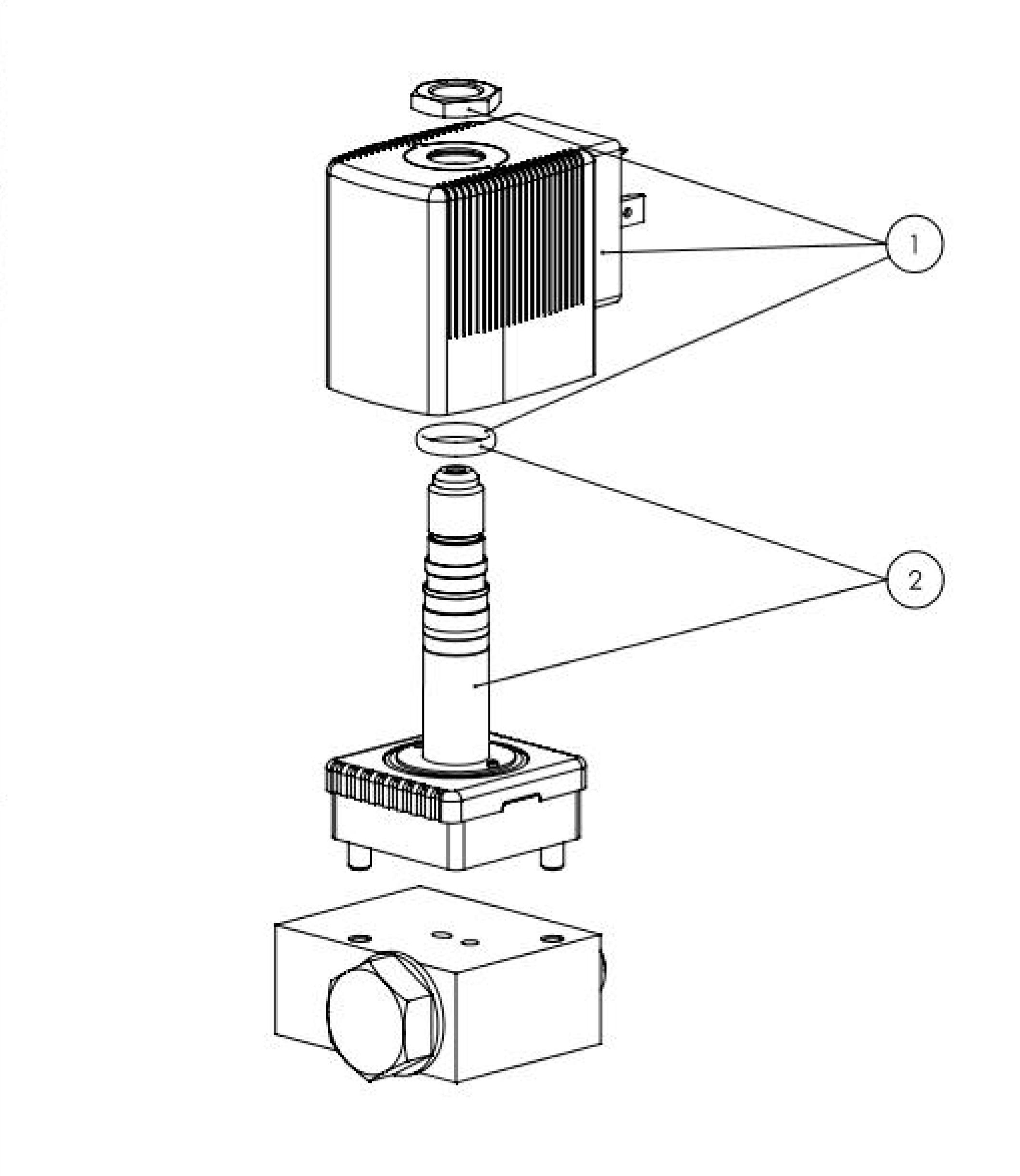 Type 6014 Plunger Valve 3 2 Way Direct Acting Switch Datasheet The Depiction Of Products May Differ From Actual Specific Design