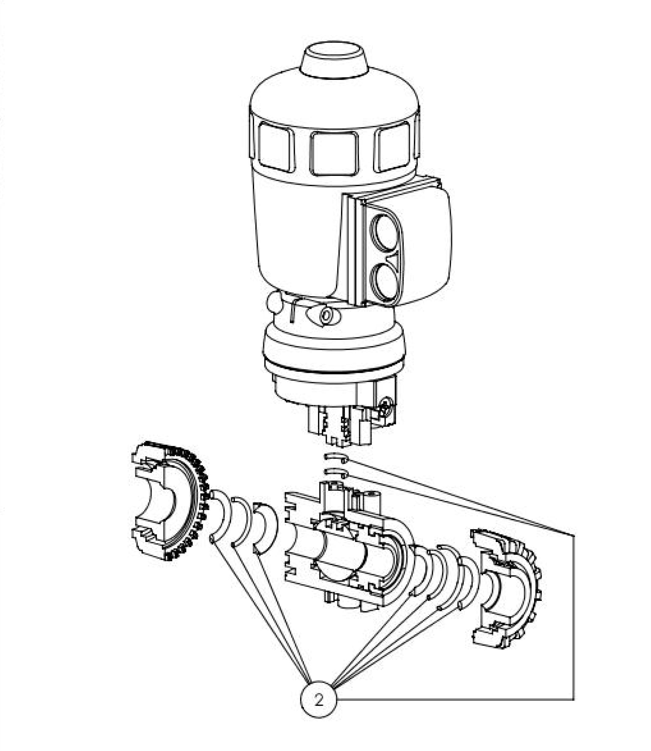 type 2658 2 2 way ball valve with pneumatic rotary actuator Places to See in Aruba 9000225007