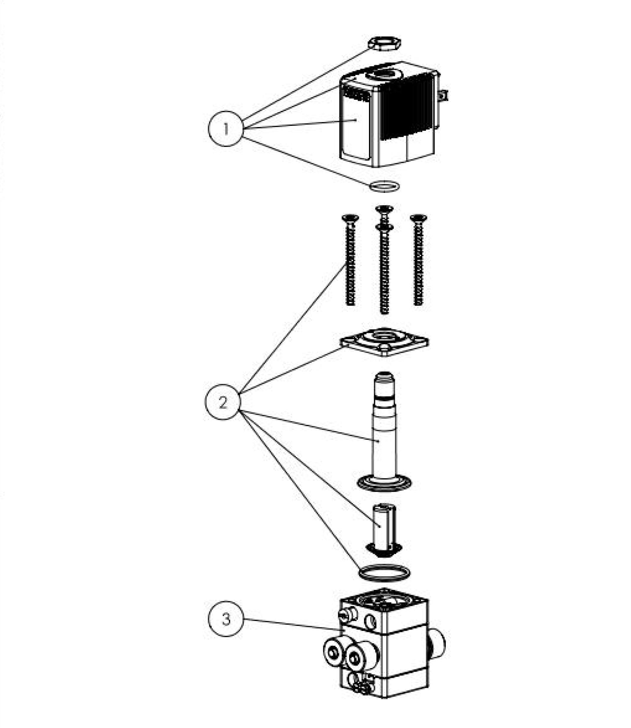 type 5420  2 way solenoid valve for pneumatics