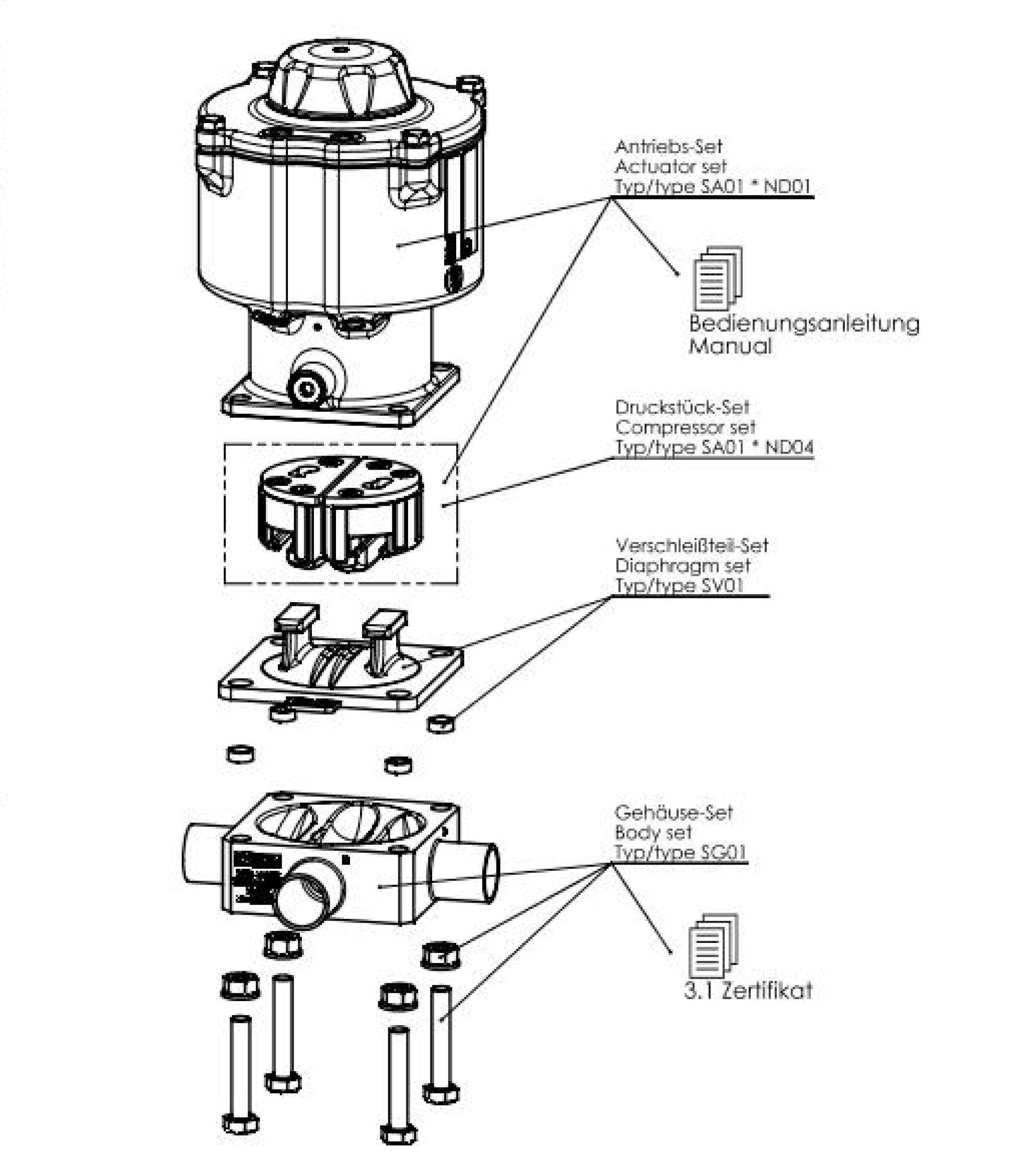 Type 2036 Robolux Multiway Multiport Diaphragm Valve Block Diagram Jpeg Compression 9000201105jpeg