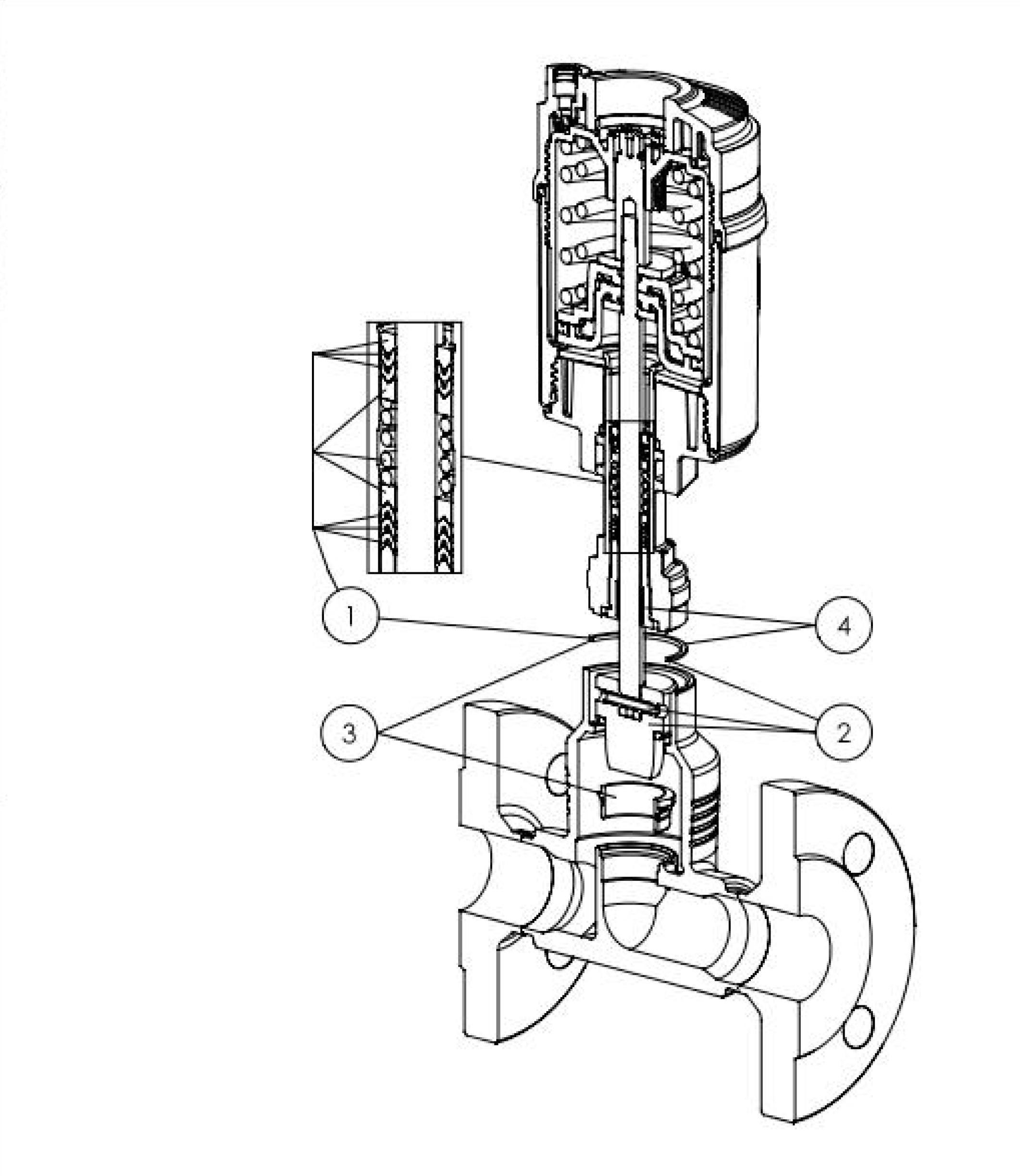 204948 22 way globe control valve pneumatic globe valves click to enlarge nvjuhfo Choice Image