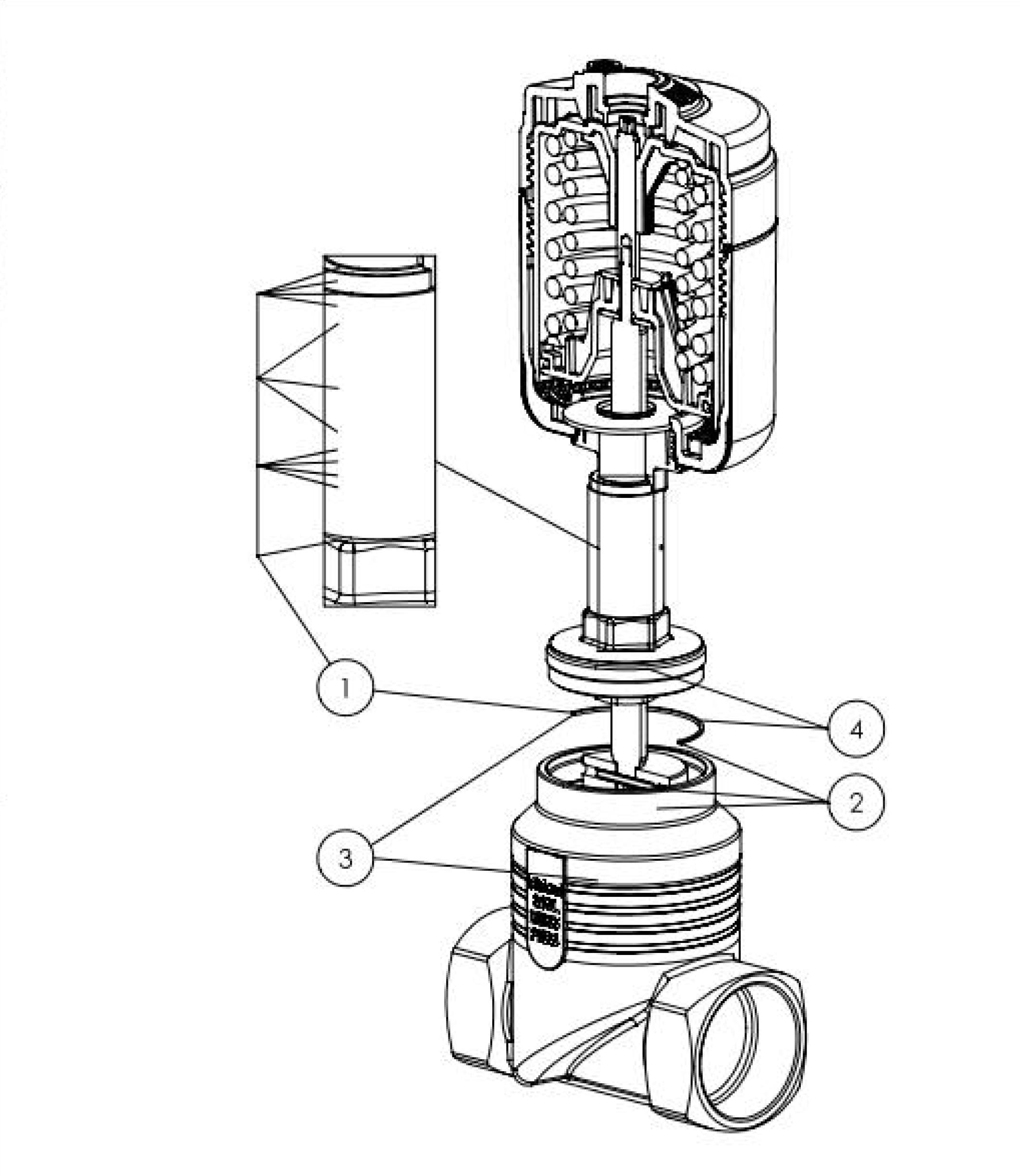 204948 22 way globe control valve pneumatic globe valves the depiction of the products may differ from the actual specific design nvjuhfo Choice Image